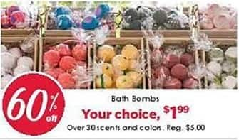 Craft Warehouse Black Friday: Bath Bombs for $1.99