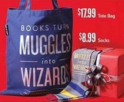 Half Price Books Black Friday: Book Tote Bag for $17.99