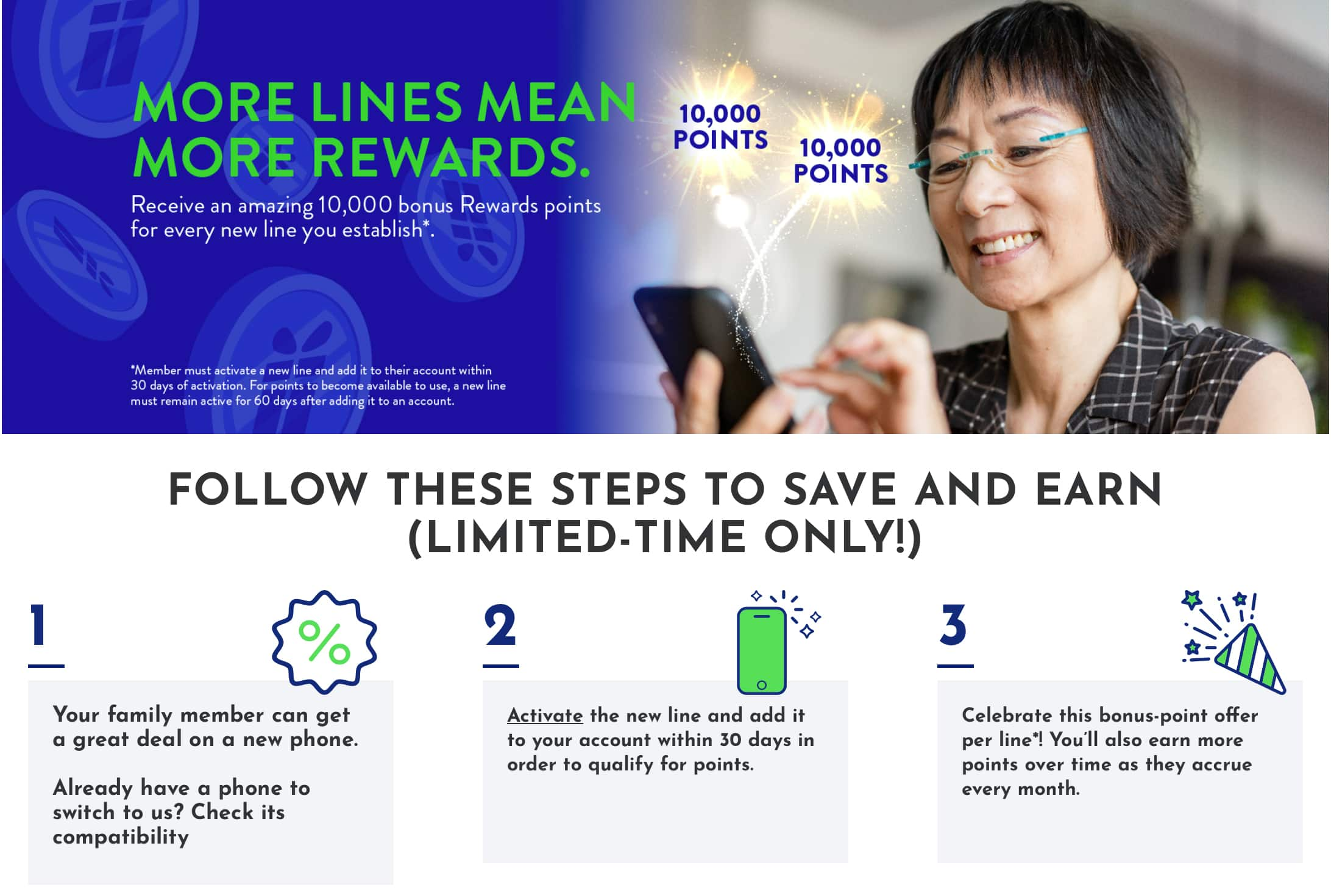 TracFone Holiday Promo: 10,000 reward points with new activation (BYOP eligible)