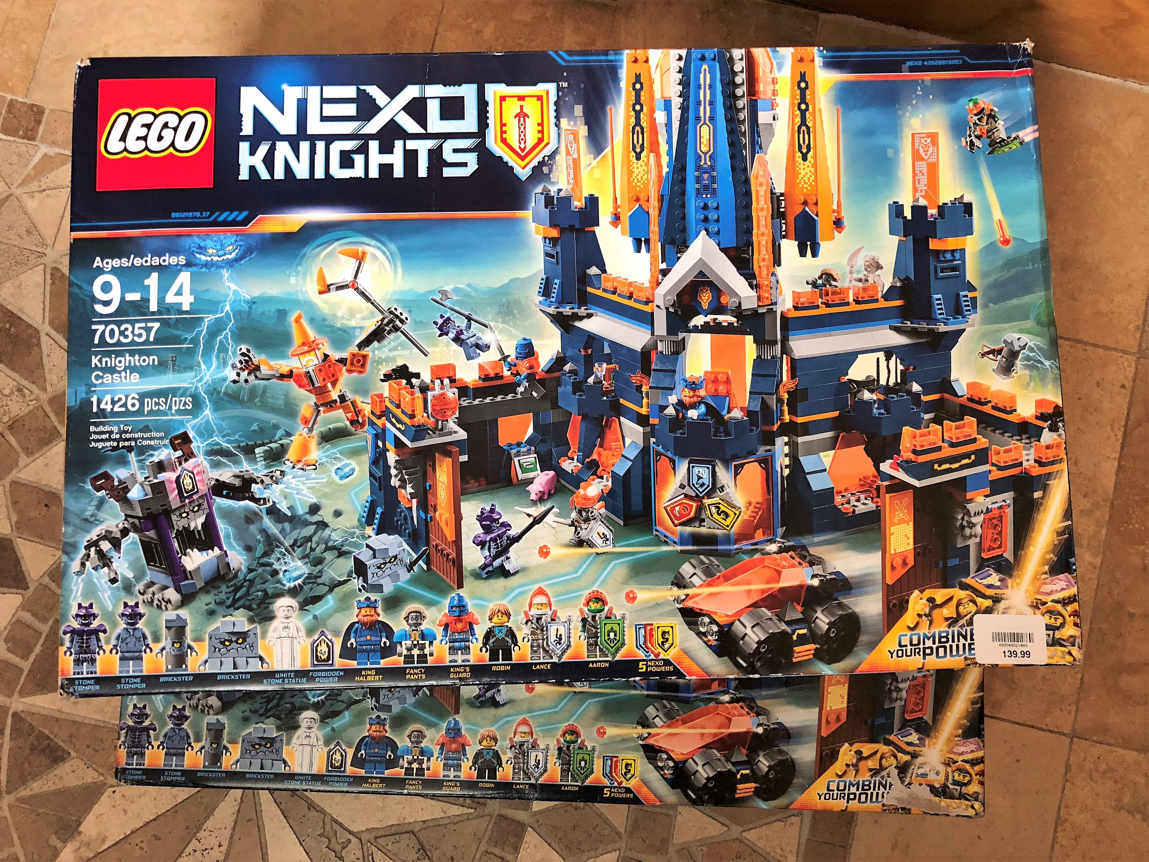 LEGO Nexo Knights - Knighton Castle (70357) - $9.98 at Target - HUGE YMMV