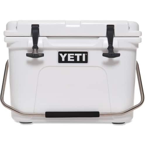 YETI Roadie 20 Cooler + 4lb YETI Ice + 50.00 Dick's CASH = 204.97
