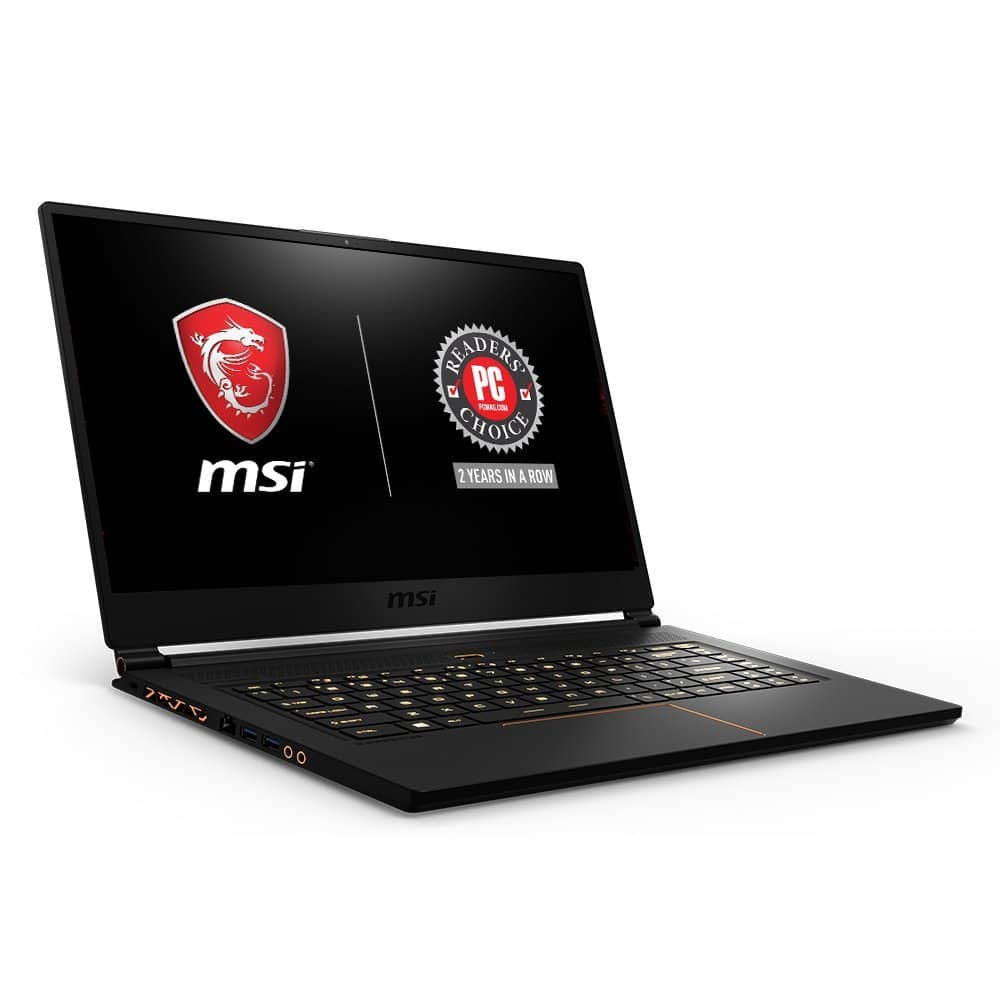 MSI GS65 Stealth THIN 15.6inch Gaming Laptop i7-8750H, GTX 1060, 144Hz $1699.99 (in-store only)