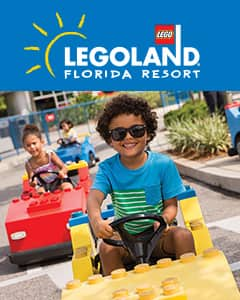 Legoland - Kids Go Free with Paid Adult