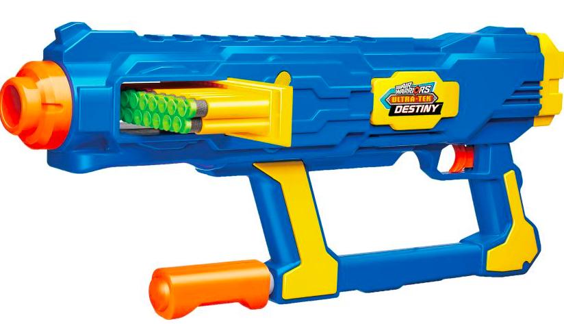 Buzz Bee Air Warriors Ultra-Tek Destiny Toy Shooting Gun + FS Cabelas $7.88