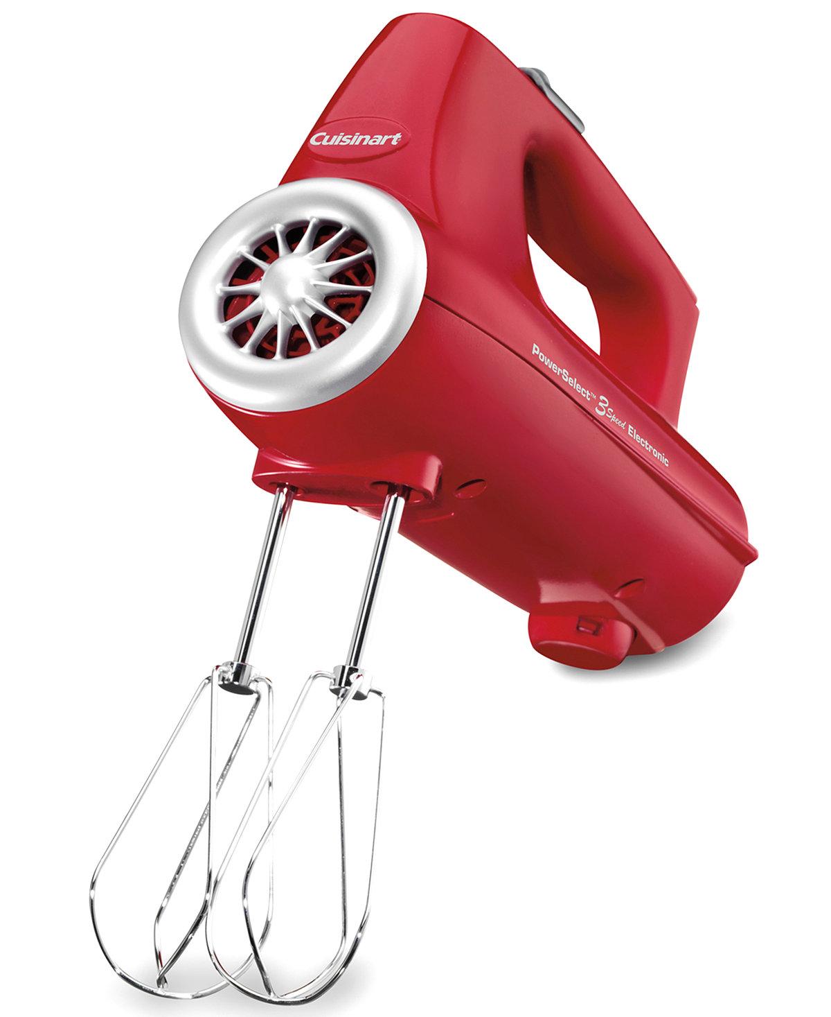 Cuisinart CHM-3 Hand Mixer, 3 Speed $17.99 + $10 Macys eGC + $5 Macy's Money