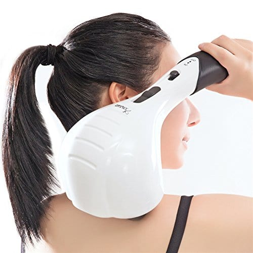 $27.95 Double Head Electric Full Body Massager for Head, Neck, Shoulder, Back, Leg and Foot -Handheld Percussion Massag