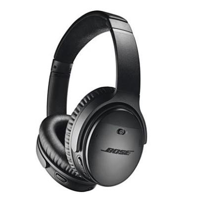 Bose® QuietComfort® 35 wireless headphones II Black/Silver $299.99