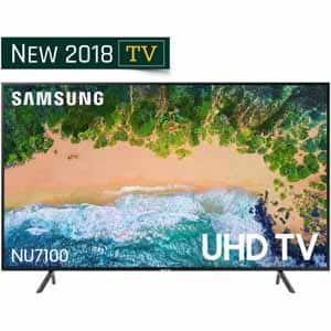"New 2018 Samsung 65"" NU7100 for $850 or Samsung 75"" NU7100 for $1500 - Free Store Pickup - Only 6/8"