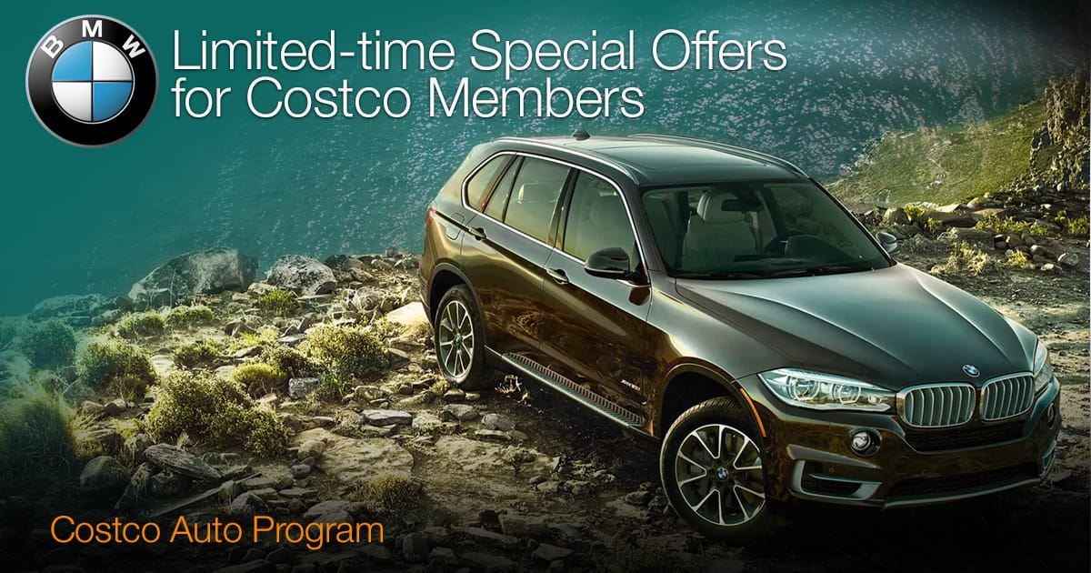 Costco Incentives for New BMWs 2018 or 2019 up to $2500