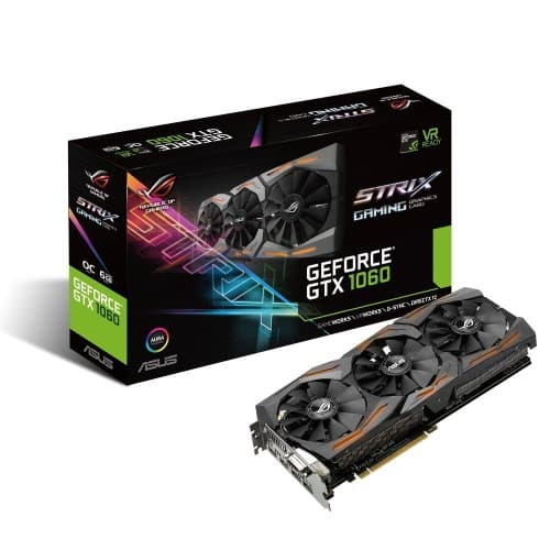 Asus Strix GTX 1060 (STRIX-GTX1060-O6G-GAMING) $255.96  after promo and Mir Jet.com
