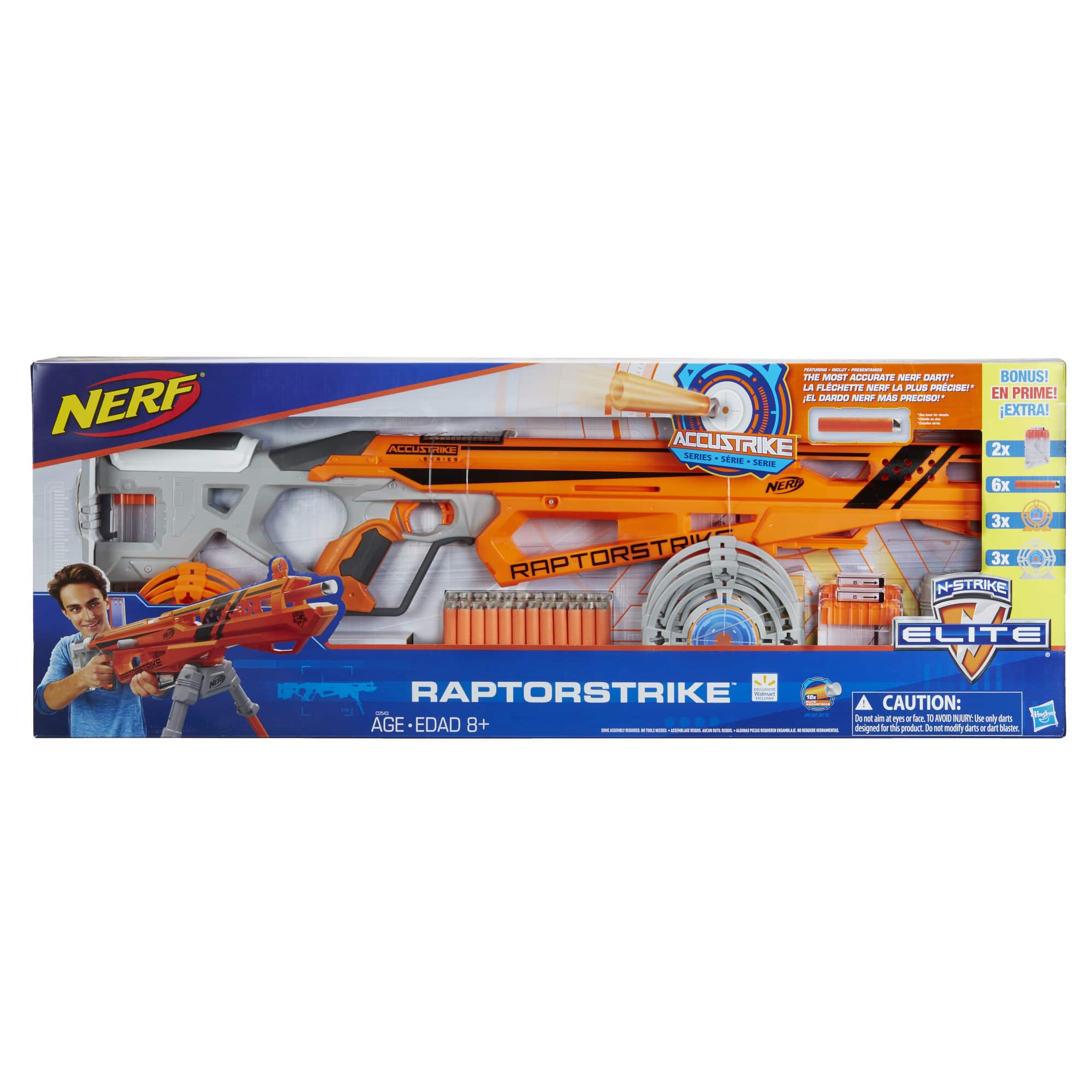 Nerf N-Strike Elite AccuStrike RaptorStrike - Value Pack $30.88