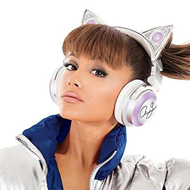 Ariana Grande Bluetooth Cat Ear Headphones + Free Shipping $99.99