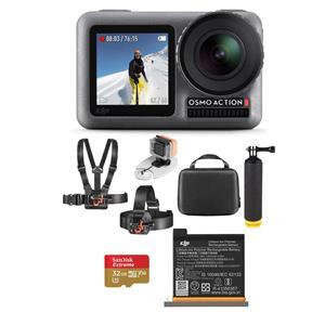 DJI Osmo Action 4K HDR Camera w/ Vivitar Adventure Water Bundle + 32GB card + 3pk Polar Pro Filters + DJI charging kit + FS $259