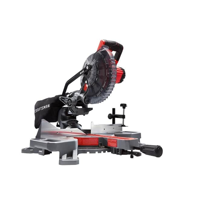 CRAFTSMAN V20 7-1/4-in-Amp 20-Volt Max Single Bevel Sliding Compound Cordless Miter Saw $199 + Free Oscillating Tool Kit ($79)