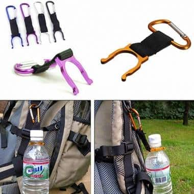 Camping Hiking Traveling Water Bottle Carabiner Buckle $0.99 + FS