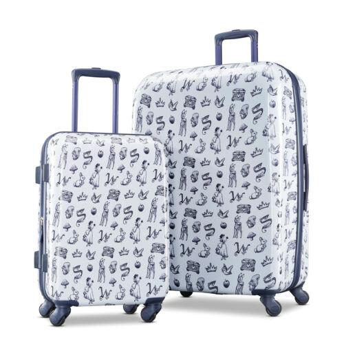 """$118.99 American Tourister Disney Snow White 2 Piece Set Luggage 21""""+28"""""""
