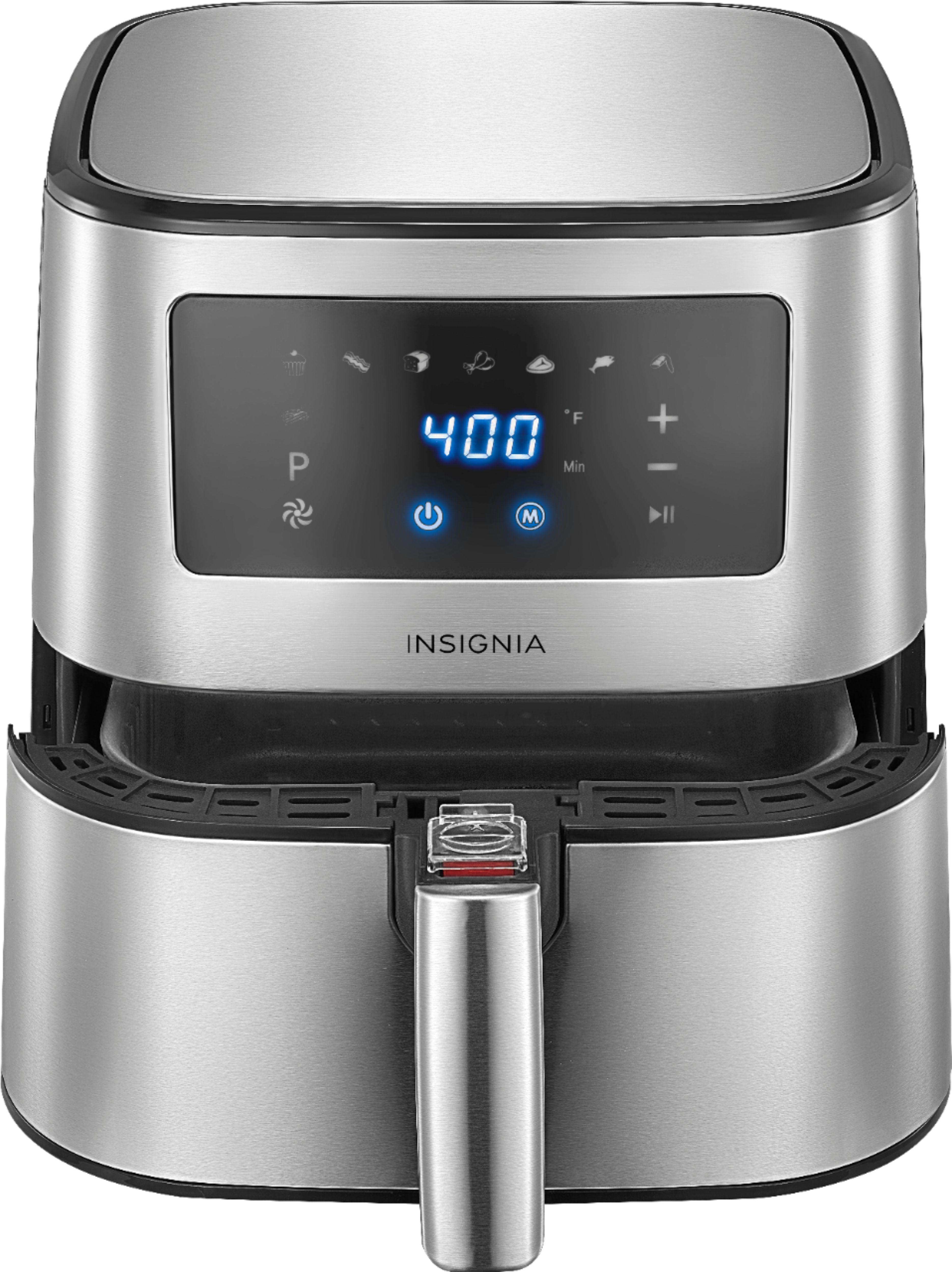 Insignia 5-qt. Digital Air Fryer - Stainless Steel, best buy, $50