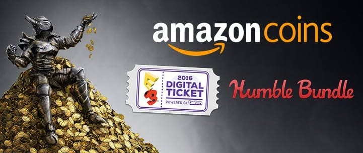 min $1 cost for 500 amazon coins for app store / Humble Bundle E3 digital ticket