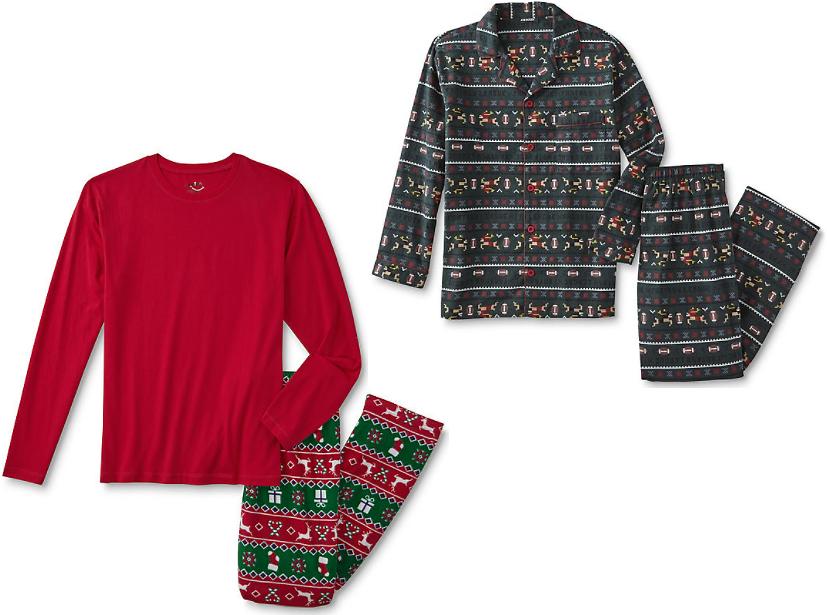 Joe Boxer Men's Holiday Pajama Sets Sale @sears.com