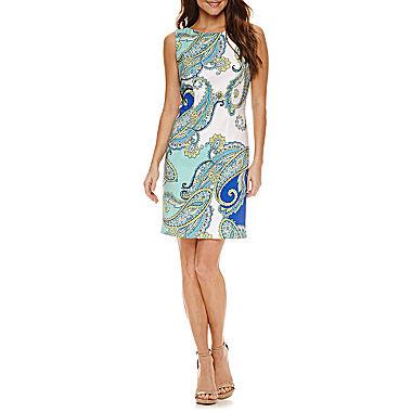 Alyx Sleeveless Sheath Dress $29.99 + ship @jcpenney.com