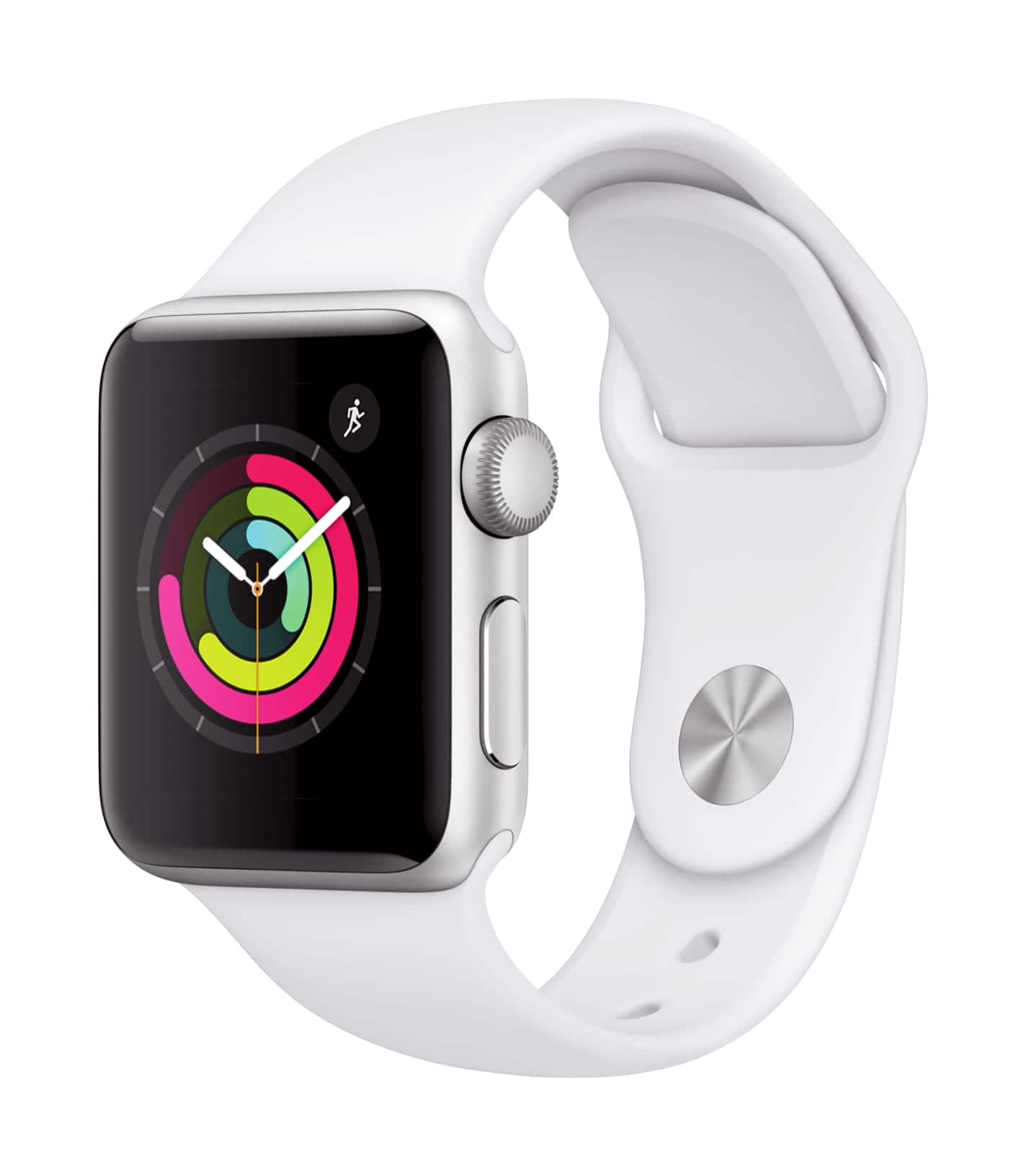 Apple Watch Series 3 (GPS, 38mm) - Space Gray Aluminium Case with Black Sport Band $199
