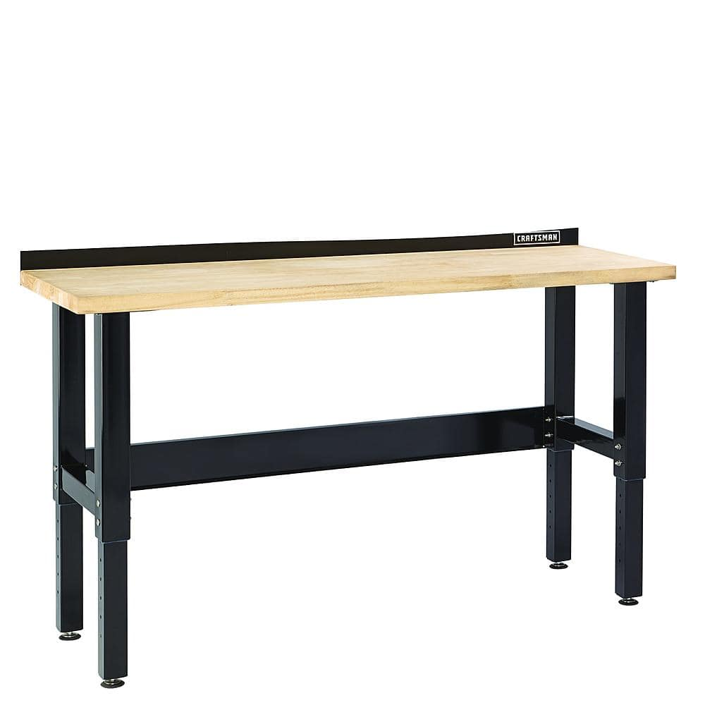 Craftsman 6' Premium Heavy-Duty Workbench Bench w/ Butcher Block Top + $50 Points, $288 @ Sears