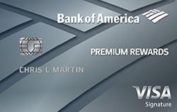 Bank of America Premium Rewards Credit Card $95