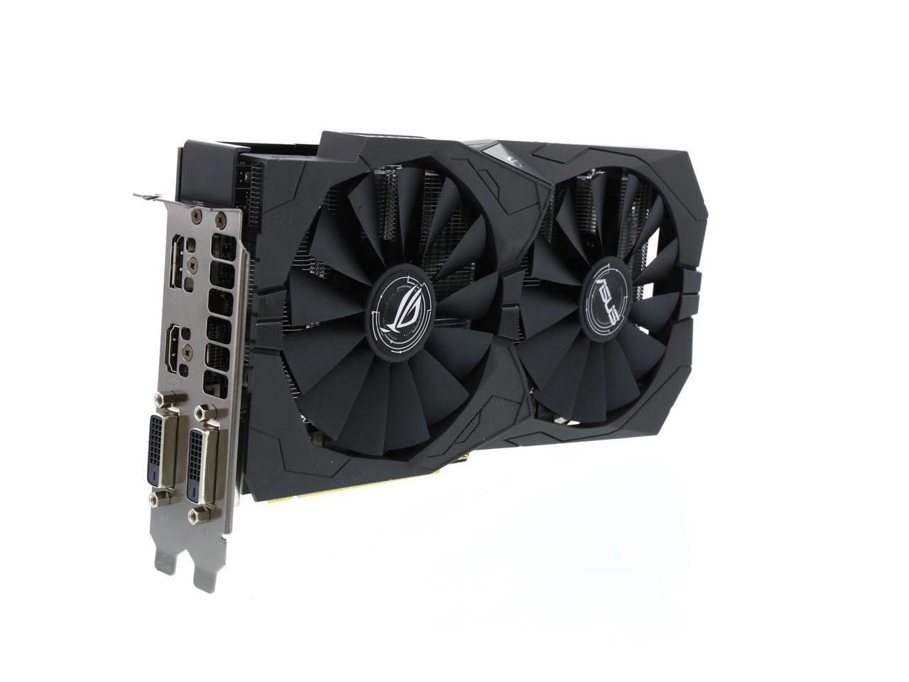 ASUS ROG Strix Radeon RX 570 O4G $189.99 AR