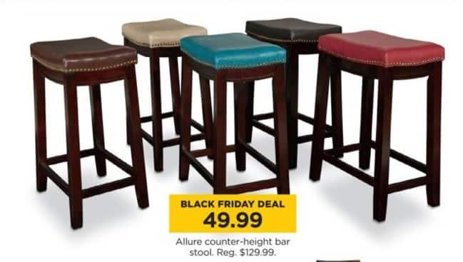 Kohl S Black Friday Allure Counter Height Bar Stool
