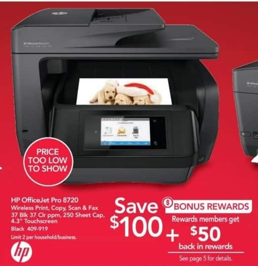 Office Depot And OfficeMax Black Friday: HP OfficeJet Pro