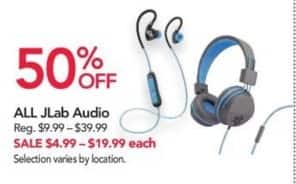 Office Depot and OfficeMax Black Friday: Entire Stock JLab Audio - 50% Off