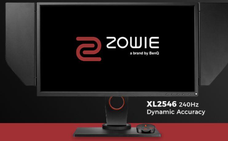 """(refurb) BenQ Zowie Monitors:24.5"""" XL2546 1080p 240Hz $349, 27"""" XL2740 1080 240Hz $409, 24"""" XL2411P 144Hz $139, 24"""" RL2455S $99"""