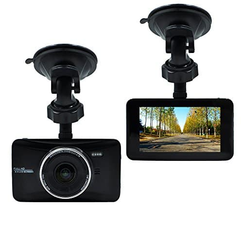 Full feature 1080 Full HD Dash Cam with night vision, motion detection and includes 32GB memory card only $28.99 w/promo code - Amazon Prime