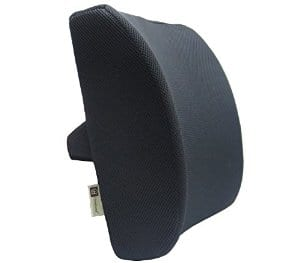 Memory foam lumbar support cushion - 60 day returns - $9.99 w/$20 off promo code - Black color only - Amazon Prime
