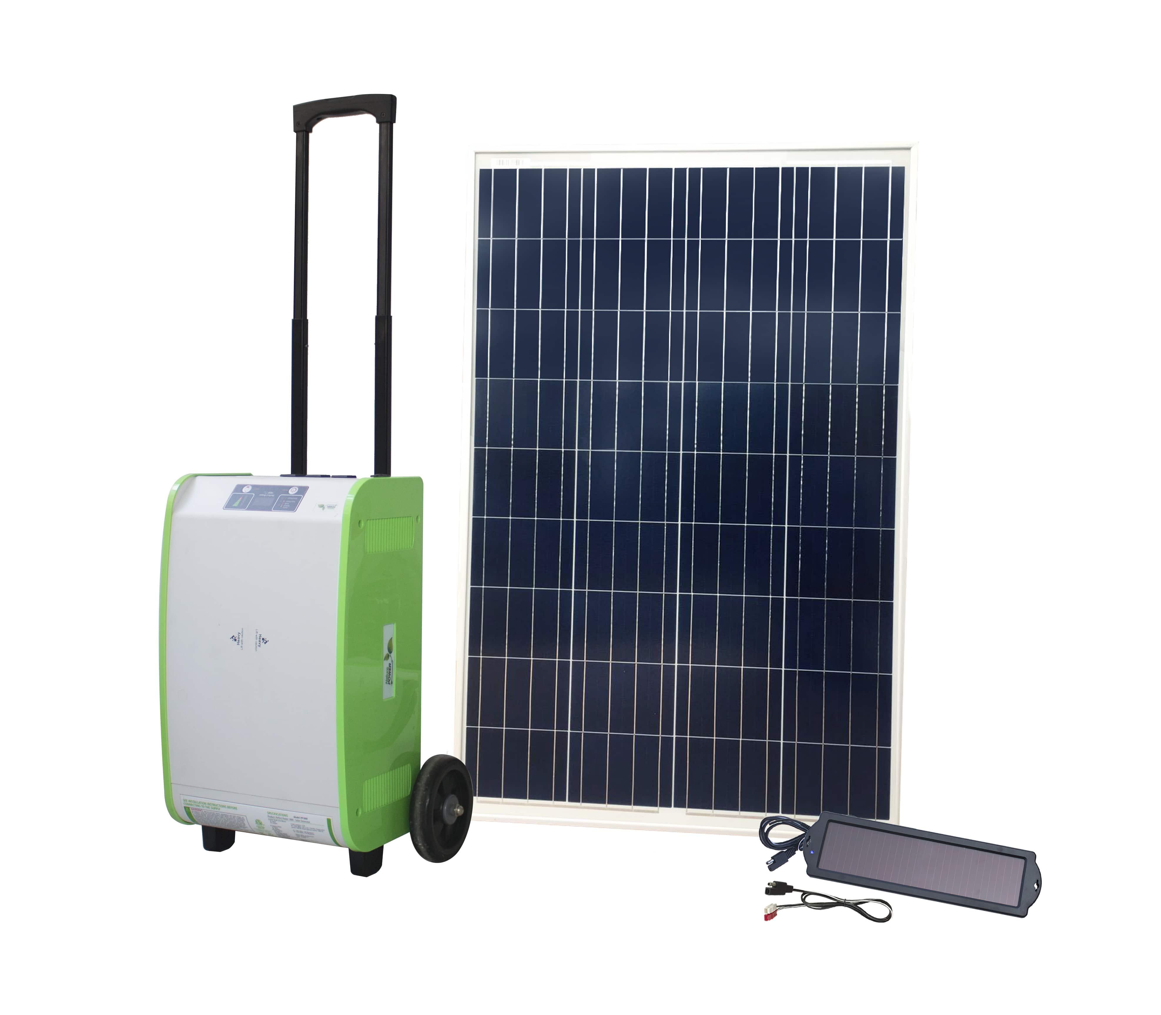 Nature PowerPak Solar Generator Kits from $800