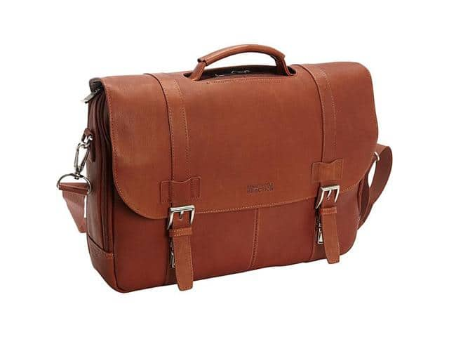 Kenneth Cole Reaction Show Business - Columbian Leather Flapover Computer Case. $89.99 @Newegg.com