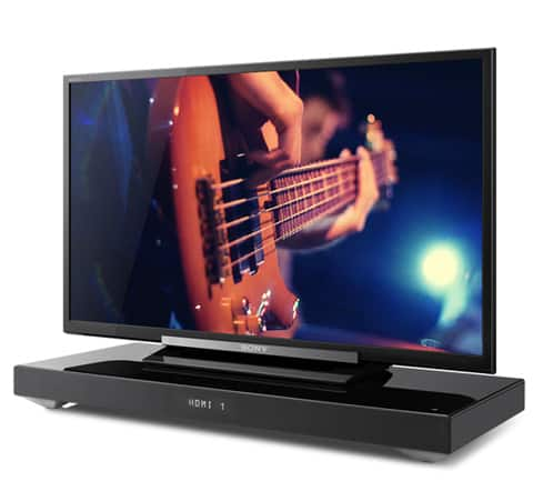 Sony HT-XT1 2.1-Channel TV Sound System with Built-In Subwoofer (Black) for $179@Newegg