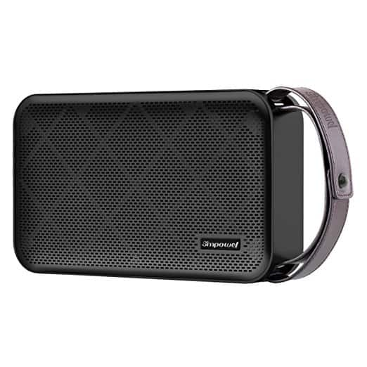 50% OFF on Simpowel V10 - Bluetooth Speaker 20W Portable Wireless Speaker with Deep Bass, DSP and Build-in Micro SD Slot for $19.99