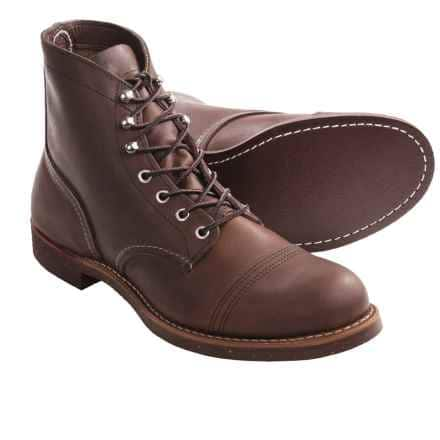 Red Wing Heritage Boots (Factory 2nds) - 25% Off + Free Shipping w/ Deal Flyer Coupon @ Sierra Trading Post - $149.99 Iron Ranger