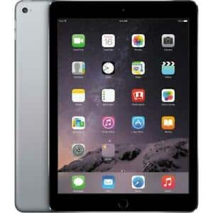 Apple iPad Air 2 with Wi-Fi 16GB MGL12LL/A in Space Gray $141.99 + fs