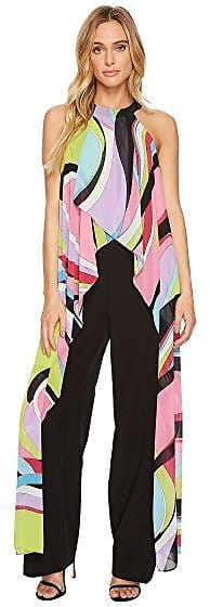 Tahari By ASL Jumpsuit with Chiffon Printed Detail $79.99 + fs