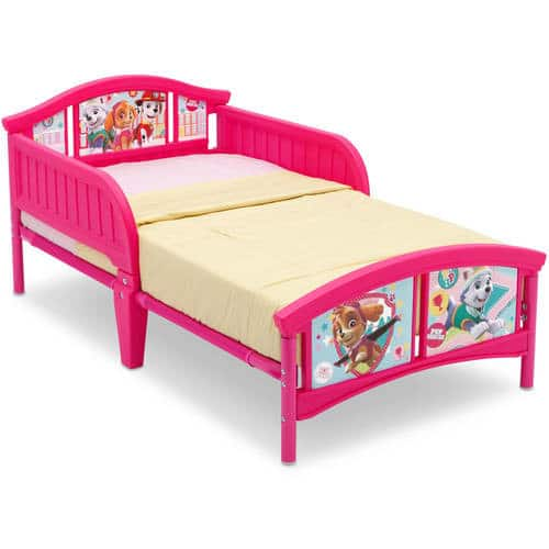 Paw Patrol Skye & Everest Plastic Toddler Bed $38.00