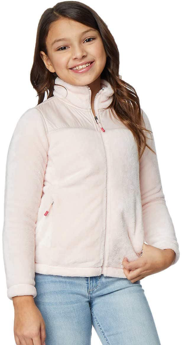 32 Degrees Youth Mixed Media Fleece Jacket $9.97