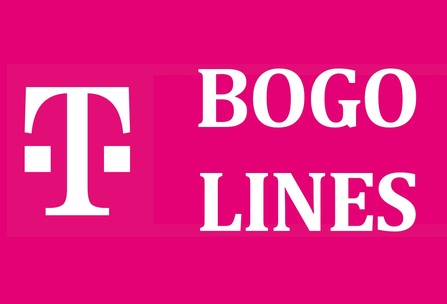 T-Mobile Customers: Buy One Get One Phone Lines on Most Plans (Update: SC plan exclusion)