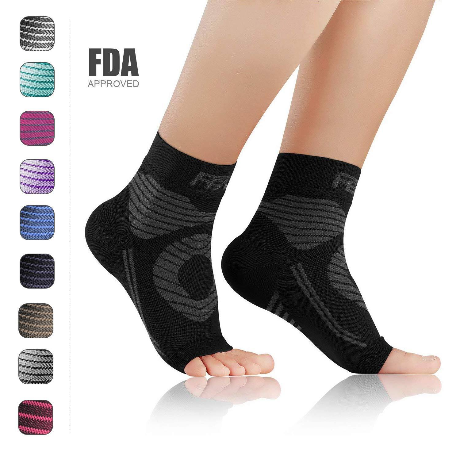 ab47d3293c Plantar Fasciitis Socks with Arch & Ankle Support $7.19, 2 Pairs for $11.39  - Slickdeals.net