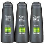 Dove Men's Body Care: Buy 2 Get 1 Free: 3x 12-Oz Fortifying 2-in-1 Shampoo