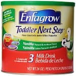 3-Pack of Enfagrow Toddler Next Step Vanilla, Powder Can (24-oz Each) $38.39 or Less + Free Shipping Amazon.com