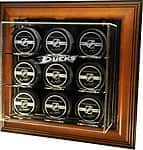 Caseworks Sports Memorabilia: NHL 9 Hockey Puck Case-Up Display (Various Teams)