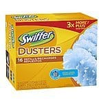 16-Count Swiffer Disposable Cleaning Dusters Refills (Unscented) $8.52 or Less + Free Shipping Amazon.com