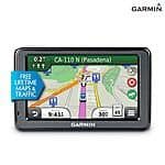 "Refurb - Garmin nuvi 2455LMT 4.3"" Portable GPS Navigator w/ Lifetime Map &Traffic Updates $49 (New Customers) + Free Shipping"